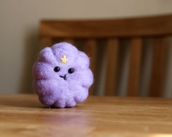 Needle Felted Lumpy Space Princess