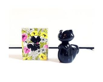 Vintage Skunk Perfume Bottle / Avon / Sniffy