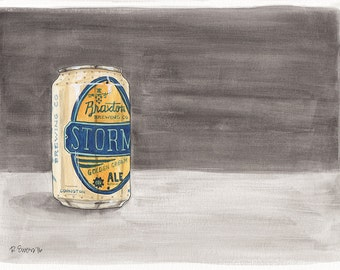Braxton Storm Golden Cream Ale, Cincinnati, Covington, Kentucky Beer, Brewery, Art