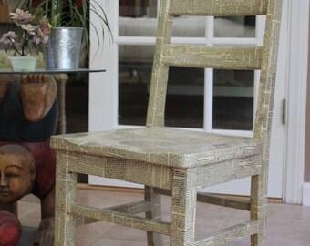 ReadMe Chair - Newsprint Chair