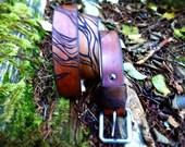 Mens Leather Belt, Custom Belt, Anniversary Gift For Him