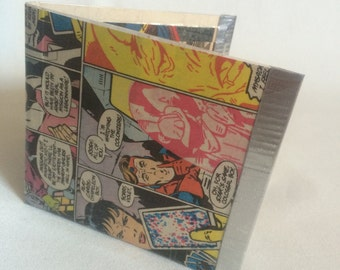 Upcycled Comic Wallet