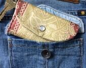 ID Holder - Cardholder Wallet - Keychain Card Holder -Keychain Wallet - ID Holder - Front Pocket Wallet - ID Wallet Keychain -Thin Wallet
