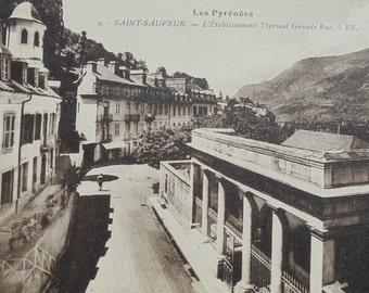 Unused Postcard - Saint-Sauveur, Pyrenees, France