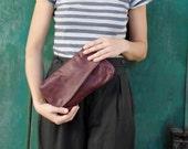 Purple purse, leather purple purse, Purple Leather bag, crossbody Leather Purse, Purple leather Handbag, women purple bag, purple clutch