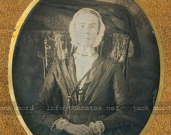 Unusual 1840s Daguerreotype