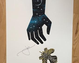 Autographed Jose Gonzalez gig poster (2016)