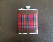 Plaid Flask.