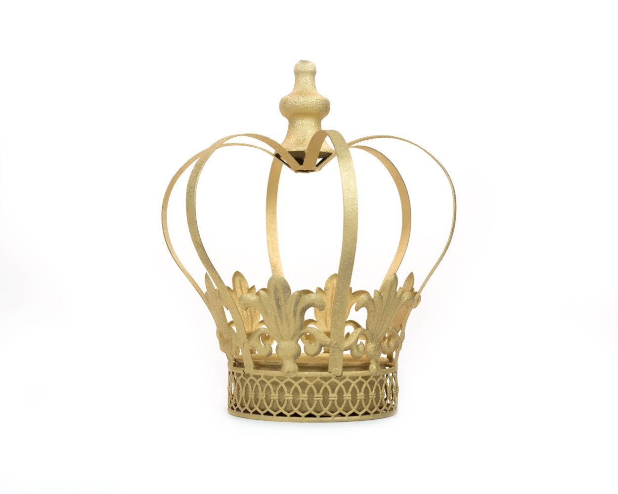 Gold Crown Centerpiece Gold Crown Large By Thequeenofcrowns
