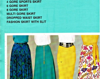 Ladies Multi Sized Skirts (11 Styles) Pattern by BEVKNITS