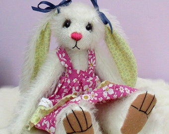 Sasha soft toy bunny rabbit sewing pattern