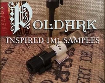 POLDARK inspired Perfume Oil Samples / 1ml samples / Vegan perfume oil /