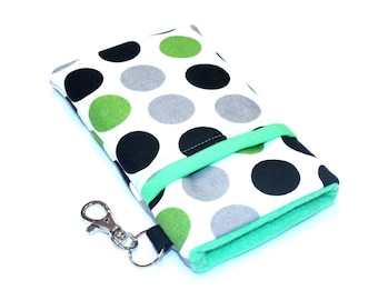 iPhone 7 Plus Case, Cell Phone purse, iPhone Sleeve, iPhone 5 Wallet Case, Fabric iPhone Case, Sony Xperia z5 Case-