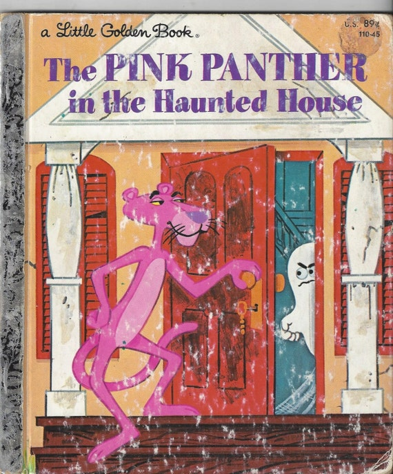 The Pink Panther In The Haunted House A Little Golden Book