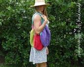 Market grocery mesh bag Crochet pattern PDF - Instant download
