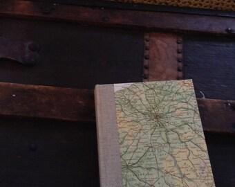 Small Blank Parisian Map Journal