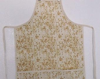 Child's Matzah Apron  -  Size Large