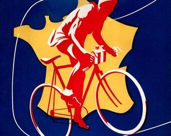 1951 Tour de France Poster (#0137) 6 sizes