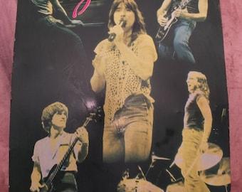 1982 Journey Band Members Metal Poster