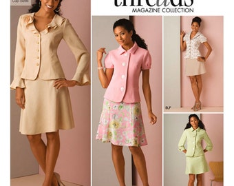 Simplicity Pattern 2645 Misses' Suit Skirts and Jackets Sizes 14-22 NEW
