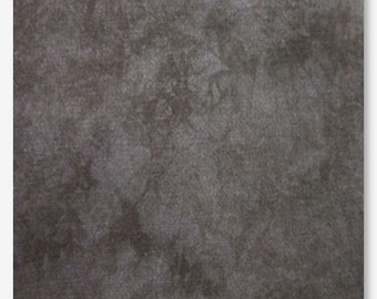 SHADOW Hand-dyed counted cross stitch fabric : 14 ct. Aida 28 Cashel count linen Picture This Plus black dark gray grey