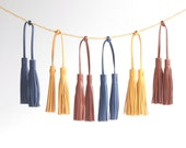 Leather Tassel. Leather Bag Charm. Leather Handbag Charm. Leather Purse Charm. Tassel Purse Charm. Tassel Handbag Charm. Tassel Bag Charm