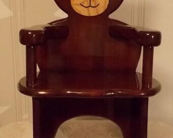 Teddy Bear Chair Etsy