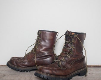 sz 9 | Men's Herman Survivor Insulated Moc Toe Work Boots
