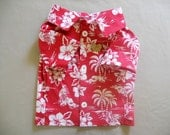 Tropical print Camp style shirt for Dogs size Medium