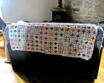crochet blanket, granny square blanket, afgan, throw