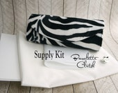 Barrelette Clutch kit, interfacing and supply kit, clutch purse kit, DIY, make your own clutch, DIY bridesmaid gift