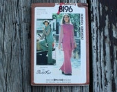 Simplicity 8196 1970s 70s Butte Knit Vest Tunic Pants Vintage Sewing Pattern Size 18-20 Bust 40-42