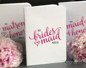 My Bridesmaid Notes - Adorable Wedding Planning Pocket Notebooks for Bridal Party, Bridesmaid Box Gift for Wedding Party, Asking Bridesmaids