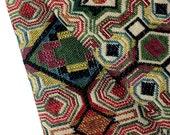 Thai Woven Fabric Tribal Fabric Native Cotton Fabric by the yard Ethnic fabric Craft fabric Craft Supplies Woven Textile 1/2 yard (WF42)