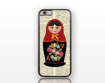 Matryoshka Russian iPhone 6/6s case -iPhone 6 plus case-iPhone case 5/5S -Galaxy S4 case -Galaxy S5 case-Galaxy S6 by Natura Picta-NP047