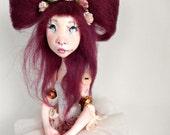 Ooak Art Doll  -Anais .Handmade