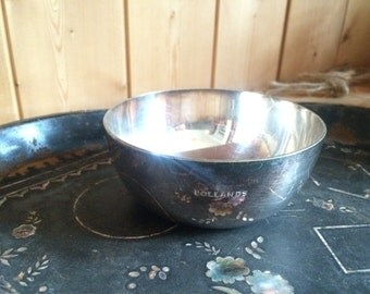 Small silver plate bowl