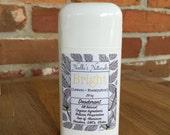 Natural Deodorant - Homemade, Aluminum Free, non-GMO - Lemon + Eucalyptus