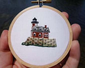 Hudson-Athens Lighthouse Embroidery