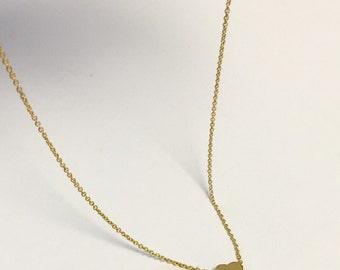 Little Mini Gold HEART Necklace