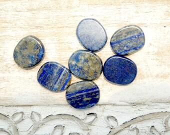 Lapis Lazuli Small Palm Stone - Worry Stone