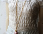 Elspet - SD long key necklace in gold tones