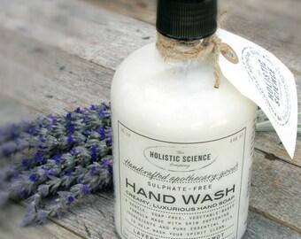 Sulphate-free Hand Wash: lavender & bergamot