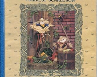Vintage 1984 Harvest Scarecrow Home Decor UNCUT