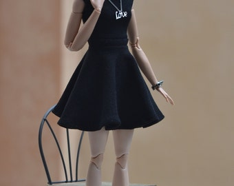 Tamica Little Black Dress for 11.5-inch Fashion Dolls