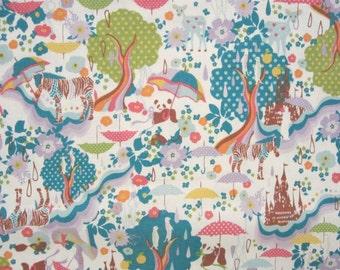 Japanese canvas fabric by Kayo Horaguchi for Kiyohara - 1/2 YD