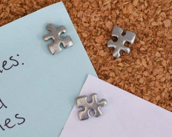 Puzzle Piece Pushpins