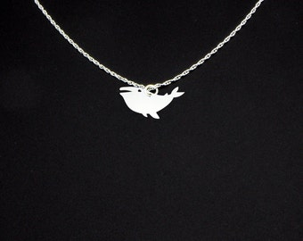 Humpback Whale Necklace - Humpback Whale Jewelry - Humpback Whale Gift