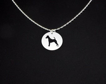 Fox Terrier Necklace - Fox Terrier Jewelry - Fox Terrier Gift