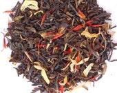 Organic PASSION FRUIT Tea, Loose Leaf Green Tea, Hand Crafted, Fruit Tea, Caffeinated, 1oz Eco Friendly box
